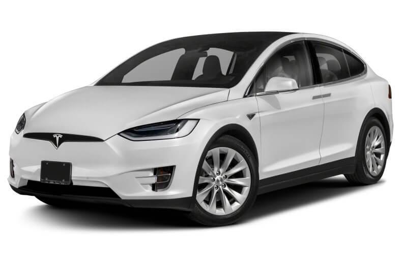 White Tesla X